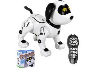 Contixo R3 Robot Dog, Walking Pet Robot Toy, App Controlled Robots for Kids, Remote Control, Interactive Dance, Voice Commands, Bluetooth, Motion Sensor, RC Toy Dog