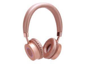 Contixo KB200 Premium Kids Headphones W/Volume Limit Controls (85db Max) Wireless Bluetooth Headphones Over-the-Ear W/Microphone (Rose) - Best Gift