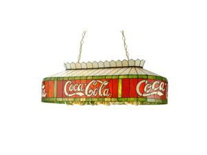 Tiffany Stained Glass Coca-Cola Pool Table Lamp 40 inch