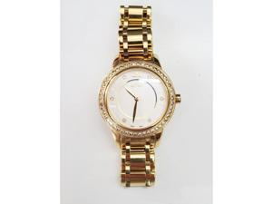 Le vian Yellow Stainless Steel Levian Diamond Watch With 1.28 Ctw Round