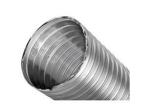 "7"" x 30' DuraFlex SW Smooth Wall Liner 2-ply 316Ti Stainless Steel"