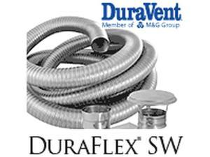 "5.5"" x 30' DuraVent DuraFlex Chimney Liner"