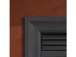 Decorative Matte Black 3-Sided Metal Frame for Insert - DS25661BL