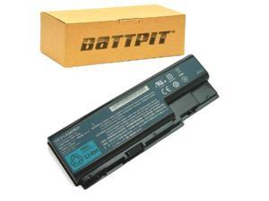 BattPit: Laptop / Notebook Battery Replacement for Acer Aspire 8920G-934G64Bn (4400mAh / 65Wh) 14.8 Volt Li-ion Laptop Battery