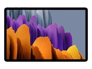 Samsung Galaxy Tab S7+ 12.4-in 128GB Tablet - Mystic Silver SM-T970NZSAXAR (2020)