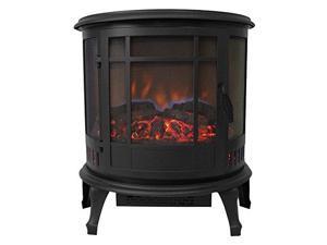 Comfort Glow ES4830 Claremont 180 Degree Viewing Electric Stove, Black