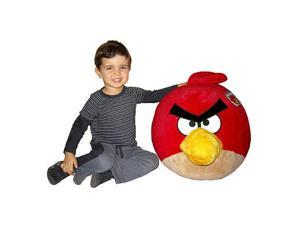 """Angry Birds 16"""" Deluxe Plush: Red Bird"""