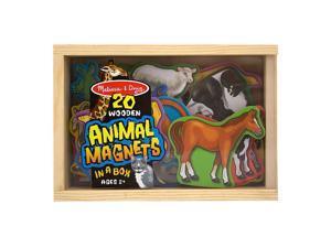 Melissa & Doug 475 Magnetic Wooden Animals