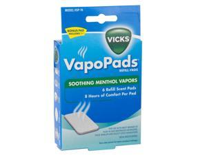 Kaz Incorporated VSP19 6 Count Soothing Menthol Scent Pads