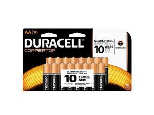 Duracell Coppertop 1.5V AA Alkaline Battery, 16-pack