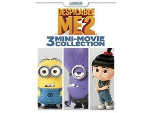 Despicable Me 2: 3-Mini-Movie DVD Pierre Coffin, Miranda Cosgrove