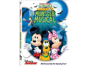 MICKEY MOUSE CLUBHOUSE-MICKEYS MONSTER MUSICAL (DVD)
