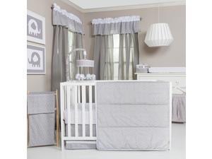 Trend Lab Circles 3 Piece Crib Bedding