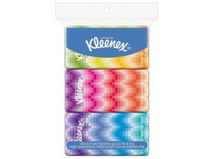 Kleenex Facial Tissues On-The-Go Pack, 10 Tissues Per Pack - 3 Pack