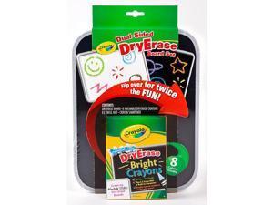 Crayola 98-8638 Crayola Dry Erase Dual-Sided Board Set Standard Asst