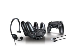 dreamGEAR Player's Kit for Sony PS4 - Black