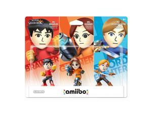amiibo Mii Fighters 3-Pack