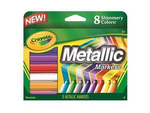 Crayola Metallic Markers Assorted 8/Set 588628