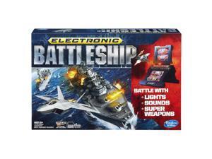 Battleship Electronic Classic Single or Two Player Board Game Hasbro HSBA3846