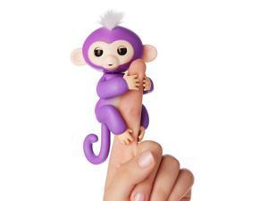 WowWee Fingerlings Mia Baby Monkey Interactive Toy - Purple
