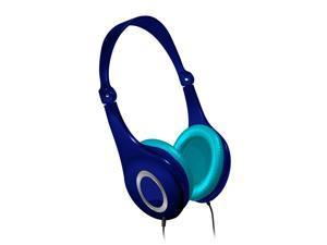 Maxell Safe Soundz Noise Cancellation Kids Headphones - Blue/Aqua