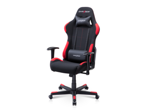 DXRacer Formula Series OH/FD01/NR Newedge Edition Mesh Recliner Esport Racing Bucket Seat Office Gaming Chair With Pillows