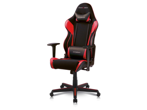 DXRacer Racing Series OH/RAA106/NR Newedge Edition Racing Bucket Seat Office Chair Gaming Chair Automotive Racing Seat Computer Chair eSports Chair Executive Chair Furniture With Pillows