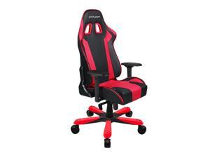 DXRacer King Series OH/KS06/NR Newedge Edition Racing Bucket Seat Big And Tall Gaming Chair With Pillows