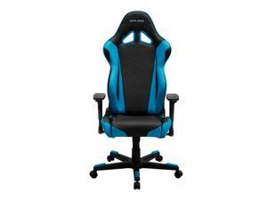 DXRacer Racing Series OH/RE0/NB Racing Bucket Seat Ergonomic Computer Chair with Free Cushions