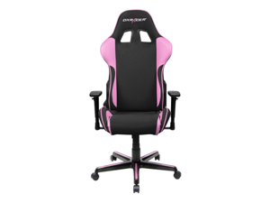DXRacer Formula Series OH/FH11/NP Newedge Edition Racing Bucket Seat Chair for PC Gaming and Office - Black & Pink