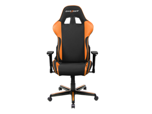 DXRacer Formula Series OH/FH11/NO Newedge Edition Racing Bucket Seat Chair for PC Gaming and Office - Black & Orange