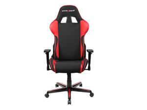 DXRacer Formula Series OH/FH11/NR Newedge Edition Racing Bucket Seat Chair for PC Gaming and Office - Black & Red