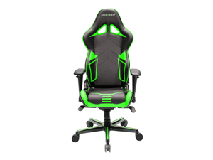 DXRacer Racing Series OH/RV131/NE Newedge Edition Racing Bucket Seat Office Chair Gaming Chair PVC Ergonomic Computer Chair eSports Desk Chair Executive Chair With Pillows