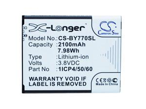 BEURER 1ICP4/50/60-210AR Replacement Battery For BEURER 952.62, 952-62, BY77,
