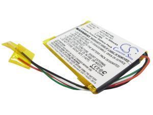 600mAh / 2.22Wh Battery For MICROSOFT Zune HVA-00005, Zune HVA-00007, Zune HVA-00018,