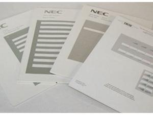 NEC DESI Laser Labels for the Aspire 34 Button Super Display Phone