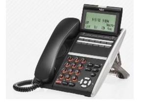 NEC Dterm IPK IP Phone LCD Display DTH DTR ITH ITR 8D 16D 1 2 3 BK TEL Refurb