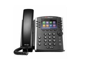Microsoft Skype for Business/Lync Edition VVX 410 12-Line Desktop Phone with HD Voice, Part# 2200-46162-019