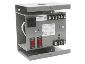 FUNCTIONAL DEVICES FUNPSC100AB10 Covered Single 100VA 120 to 24Vac UL Class II power supply with 10A Breaker