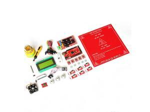 WIFEB Mega2560 Ramps1.4 Controller A4988 LCD2004 Hotend Endstop MK2a Heatbed Kit For 3D Printer