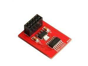 WIFEB 3D printers Ramps microSD(red) card adapter supporting RAMPS 1.4 standard size SD Ramps Breakout