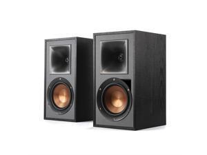 Klipsch R-51PM Powered Sound Bookshelf Speakers - Black (Pair)