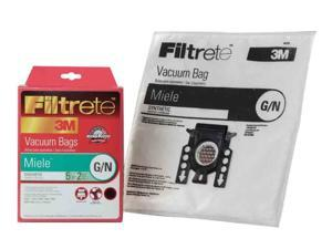 Meile G-N Synthetic Bags and Filters by Filtrete, 5 Bags and 2 Filters