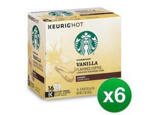 Starbucks Vanilla Coffee Keurig K-Cups, 96 Count