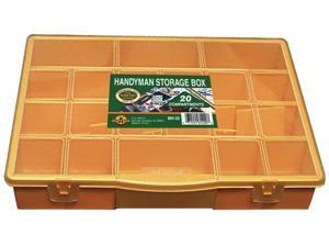 H.B. Smith Tools, MH-20, Handyman Storage Box, 20 Compartments, Large Storage Case
