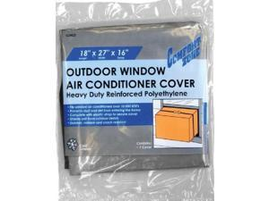 """Comfort Zone, CZAC2, 18"""" x 27"""" x 16"""" x 6 Mil, Small, Outside Outdoor Window Air Conditioner Cover"""