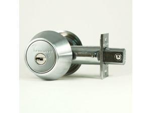 Mul-t-lock, HD2-26-206, Satin Chrome, Hercular Double Cylinder Deadbolt, Key On Both Sides, HIGH SECURITY, INTERACTIVE + 206 KEYWAY