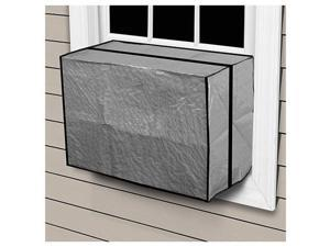 """CZAC3, 18"""" x 27"""" x 22"""" x 6 Mil, Medium, Outside Outdoor Window Air Conditioner Cover"""