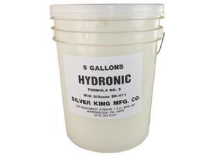 Silver King, HF5SK4715, 5 Gallon, Hydronic Formula #5 Steam Boiler Cleaner Inhibitor With Silicone SK-471