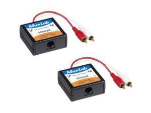 Muxlab Stereo Hi-Fi Balun 2PK 500028-2PK